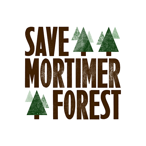 Save Mortimer Forest campaign logo